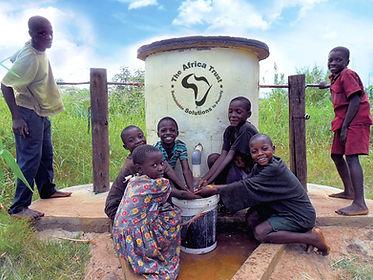 The Africa Trust - Elephant Pump - Zimba