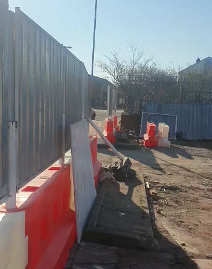 Site clearance at Derby Court Liverpool