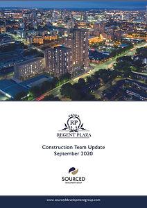 Regent Plaza Construction Report Septemb