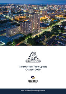Regent Plaza Construction Report October