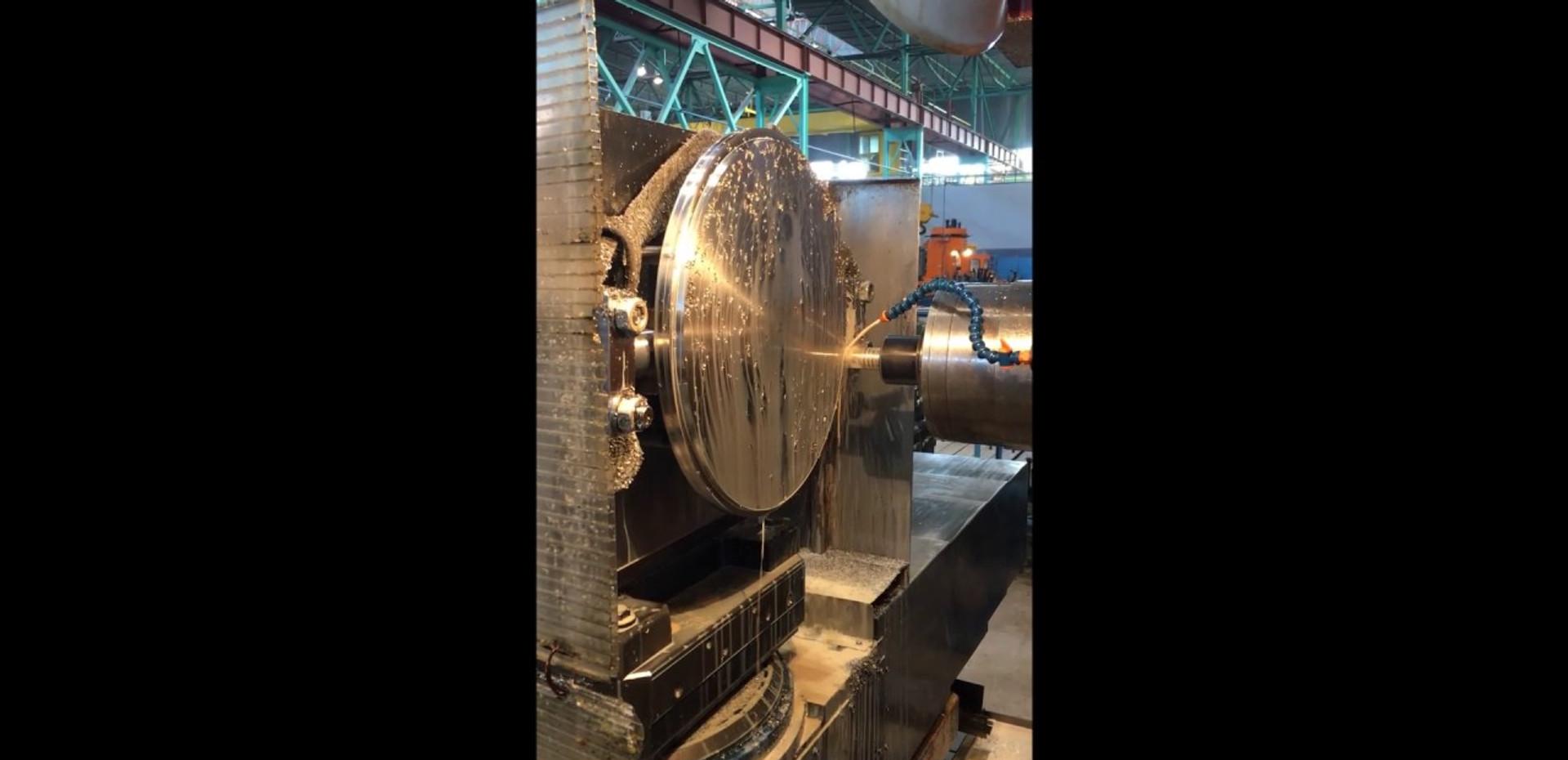 Disc machining