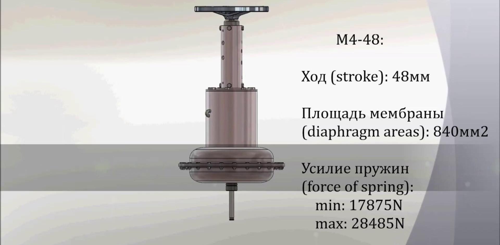 Air diaphragm actuator for control valves