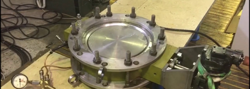 Air testing of butterfly valve