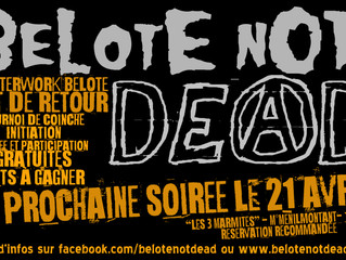 BelOTE NOt DeAD - April Edition