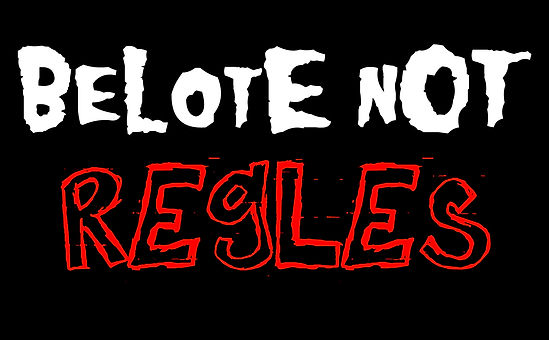 logo belote not dead - regles