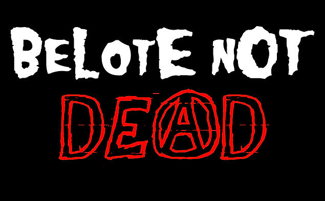 logo belote not dead