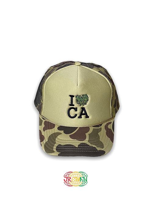 I <3 CA Trucker Hat