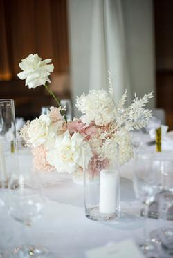 Fresh & preserved flower arrangement