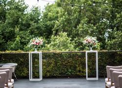 Ceremony urn arrangements