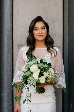Summer bride bouquet