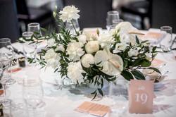 Garden style table centres