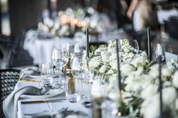 Bridal table - Floral table garland