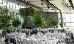 Hanging botanical chandelier