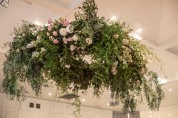 suspend floral arrangement
