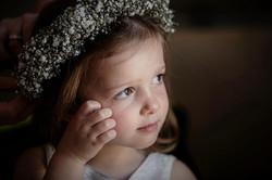 Flower girl gyp flower crown