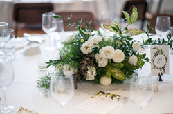 Textured floral & folage arrangement