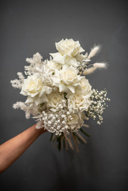 Creams & white brides bouquet