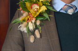 Spring Racing Corsage for men