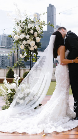 Ceremony flowers - Crown Avery Melbourne