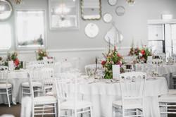 Spring garden table arrangements
