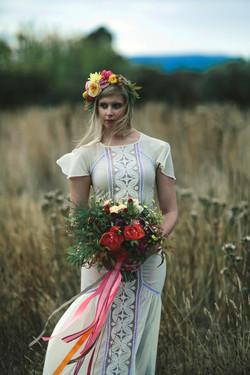 Bridal flower crown by Floretta