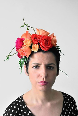 Floral Fascinator by Floretta