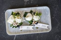 Groom buttonholes