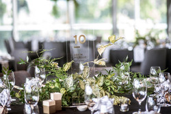 Foliage table centrepiece