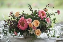 Garden style spring arrangements