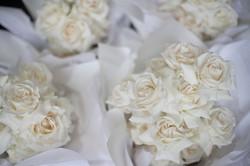 Cream rose brides bouquet