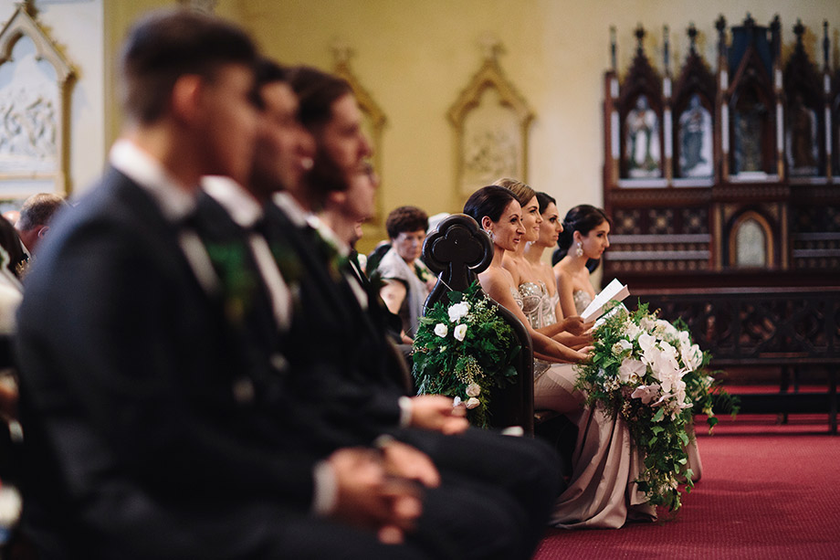 Trailing Bridesmaid bouquets