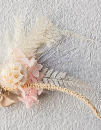 Dried flower Buttonhole