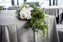 Bridal table arrangment