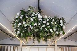 Fresh hanging flowers