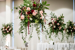 Tall flower stand arrangements