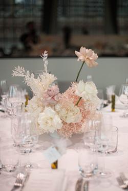 Fresh & preserved flower centrepeice