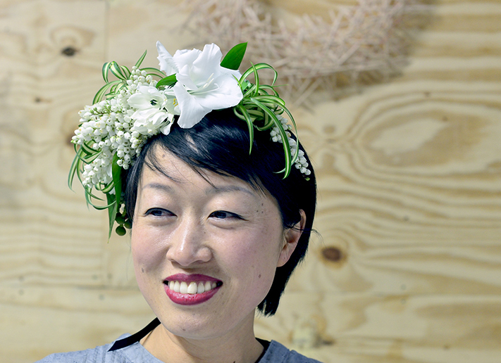 Floral Fascinator by Floretta