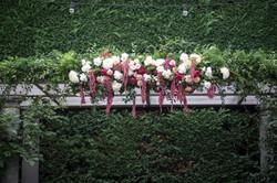Quat Quatta Arch flowers
