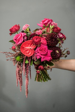 Unstructured brides bouquet