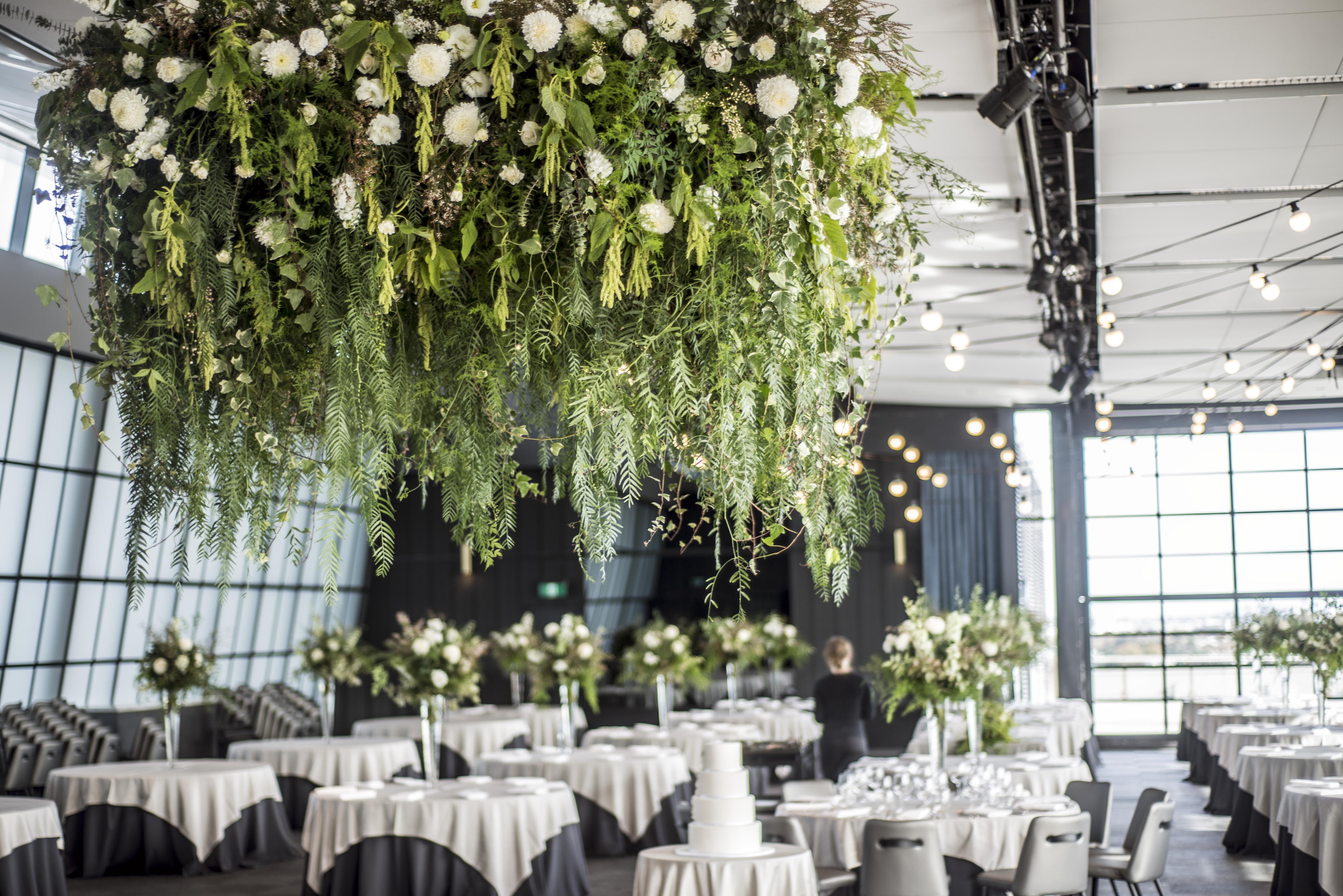 Botanical chandelier