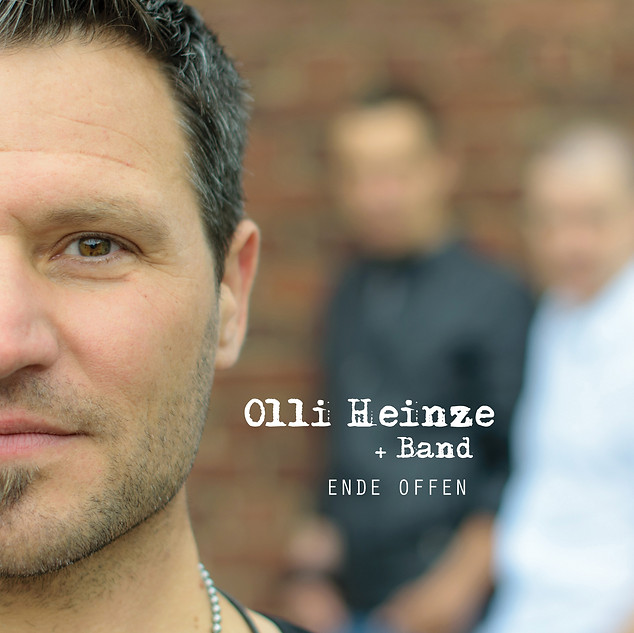 OLLI HEINZE | Ende offen | Cover