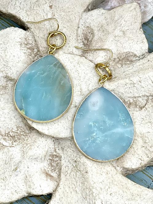 Teardrop Blues earrings
