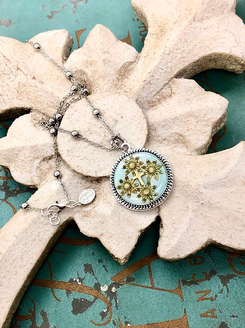 Bonton Farms Line: Flowering Hope Necklace