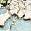 Thumbnail: Crystals and Pearls Toggled Lariat
