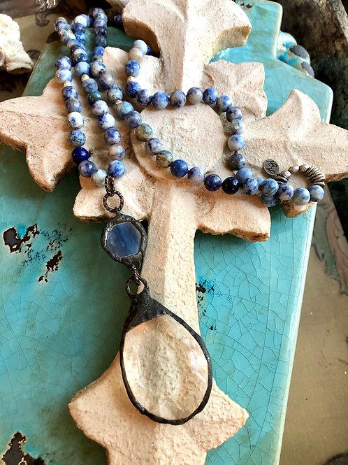 Crystal Lazuli Necklace