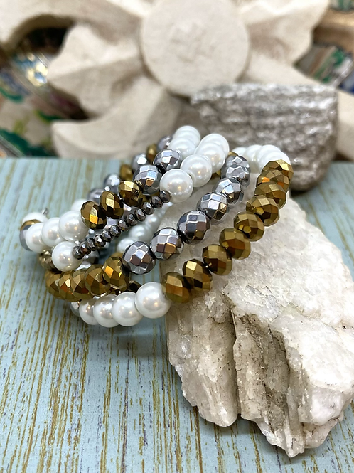 Sparkling Wrapped Bracelet