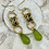 Thumbnail: Green and Gold Dangles