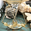 Thumbnail: Citrine and Chain Dangle earrings