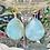 Thumbnail: Teardrop Blues earrings