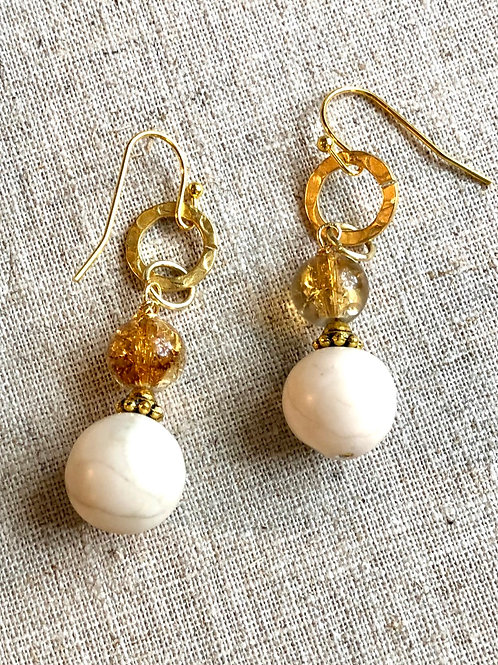 River Stone Dazzle earrings